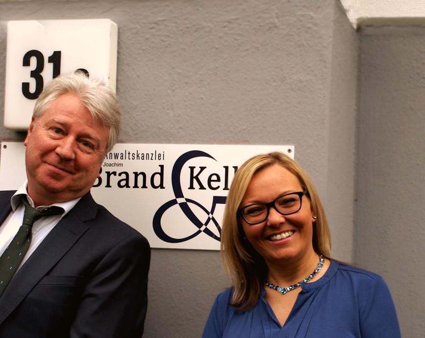 Joachim Brand und Nadine Kelling